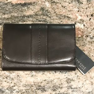Kenneth Cole Bags - Kenneth Cole NY Leather Dark Brown Wallet